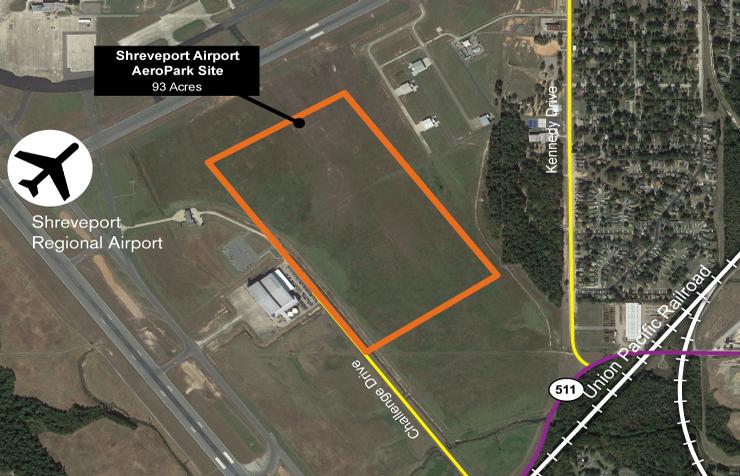 Shreveport Airport AeroPark Site