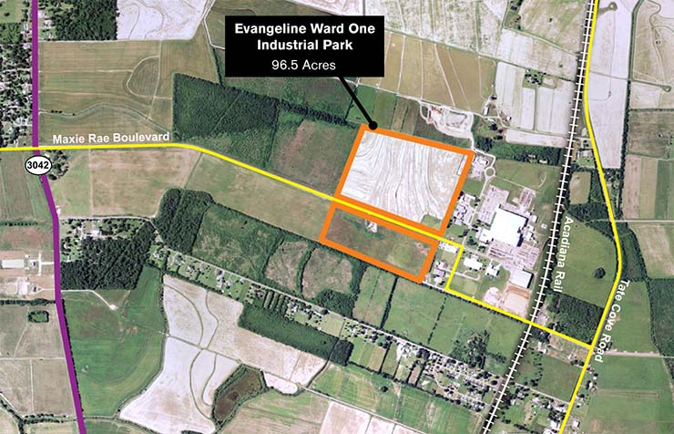 Evangeline Ward One Industrial Park Expansion