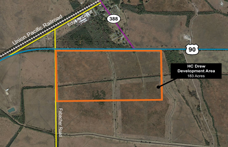 HC Drew Development Area