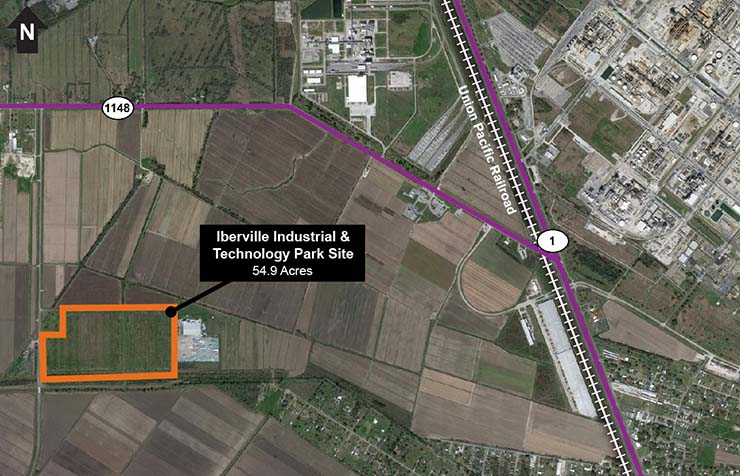 Iberville Industrial and Technology Park Site