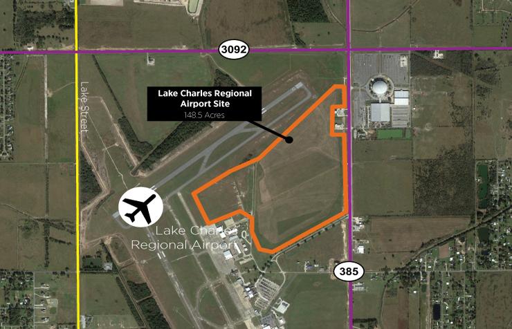 Lake Charles Regional Airport Site
