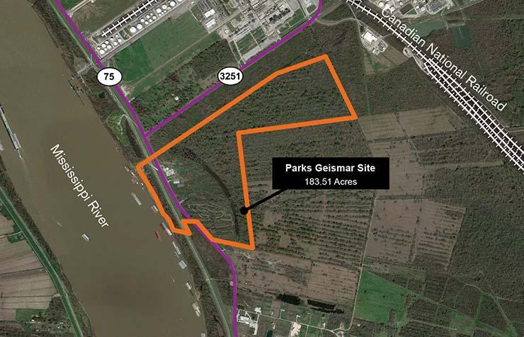 Parks Geismar Site