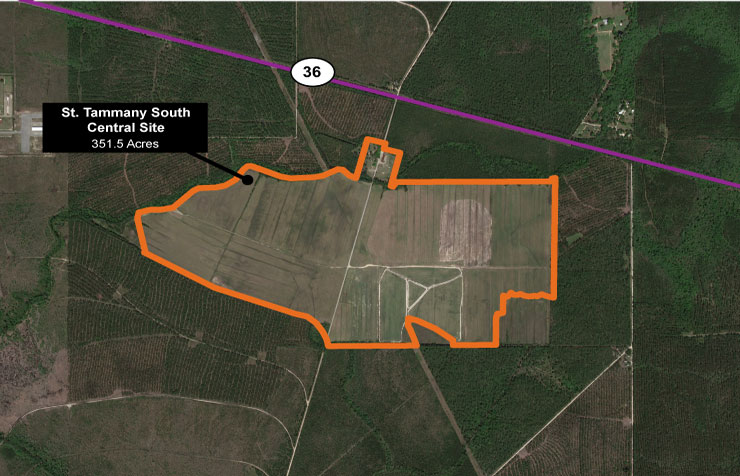 St. Tammany South Central Site